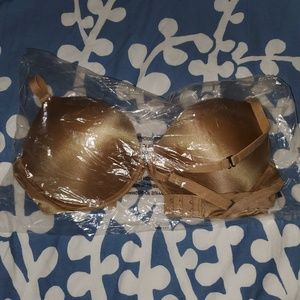 Frederick's of Hollywood nude bra